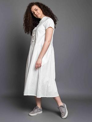 44c7c5ef98ac Платье японское с коротким рукавом (зелёный) в интернет магазине Индиго